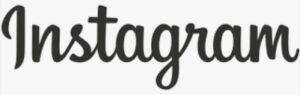 インスタグラムを英文字で書いているロゴ